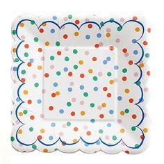 Kleurrijk & Hip Toot Sweet Thema - www.confettienco.be #decoratie #verjaardag #feest #kinderen #kleur #merimeri #webshop #borden