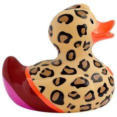 Luxury Lush Leopard Duck by Design Room - New BNIB