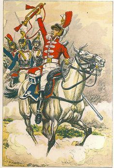 French; 4th Cuirassier Regt, trumpeter, 1805-09