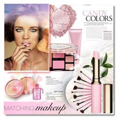"""""""Matchy-Matchy Makeup"""" by milica1940 ❤ liked on Polyvore featuring beauty, By Terry, jane, Clarins and Benefit"""