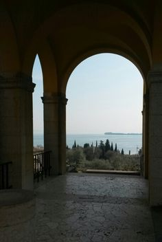 Lago di Garda da Casa D'Annunzio