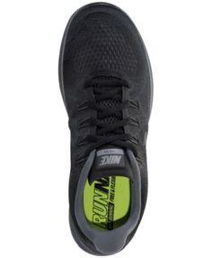 Nike Men's Free Run 2017 Running Sneakers from Finish Line - Black 10.5