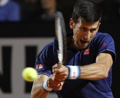 ROME (AP)(STL.News) — Four-time champion Novak Djokovic picked up right where he left off in a rain-delayed Italian Open quarterfinal against Juan Martin del Potro, closing out a 6-1, 6-4 win Saturday to set up a semifinal later against Dominic Thi...