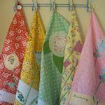 DIY Kitchen Accessories : DIY Terms of Endearment Tea Towel tutorial Dish Towels, Hand Towels, Tea Towels, Fabric Crafts, Sewing Crafts, Sewing Projects, Sewing Hacks, Sewing Tutorials, Sewing Ideas