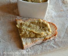crema di melanzane,crema di melanzane per crostini,le ricette di tina