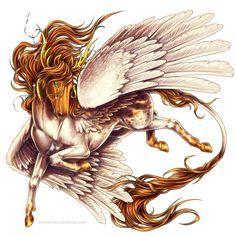 2018/02/15 Pegasus - Camon...By Artist BronzeHalo@deviantART.com...