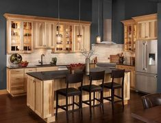 94 Best Hickory Cabinets Images Hickory Cabinets