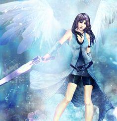 Angel Rinoa by *Avidityy on deviantART