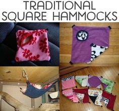 Traditional square hammocks
