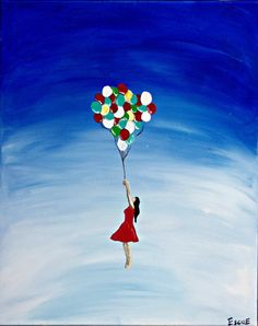 Up, up and away! Artist: Kelsey Escue