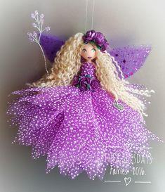 Fairy Crafts, Doll Crafts, Felt Fairy, Clothespin Dolls, Doll Tutorial, Flower Fairies, Fairy Dolls, Diy Gifts, Christmas Crafts