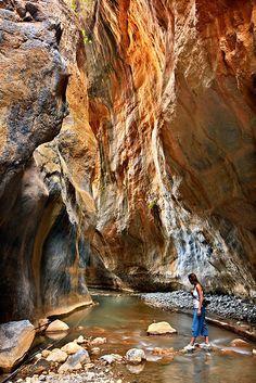Sarakina Gorge, Crete, Greece