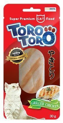 TORO TORO flavor Grilled Chicken Snacks for cats Chicken meat Real 100% (20 g.x 4 packs.) >>> Find out more about the great product at the image link.