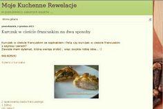 Kurczak z żółtym serem