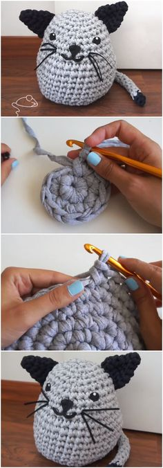 Crochet Beautiful Cat