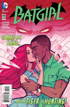 Velvet Tiger's got her claws around Luke Fox's throat-and only Batgirl can save him!