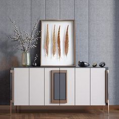 When you own a luxury home, you want the best from the best for your abode. Sometimes all is you need is a little inspiration, and this article we have gathered The Most Expensive Sideboards That Will Bring Uniqueness To Your Home. Dining Room Furniture Design, Cabinet Furniture, Sofa Furniture, Luxury Furniture, Luxury Interior Design, Interior Design Inspiration, Industrial Bedroom Design, Muebles Living, Home Room Design
