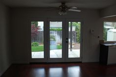 replacing sliding door with french - Google Search