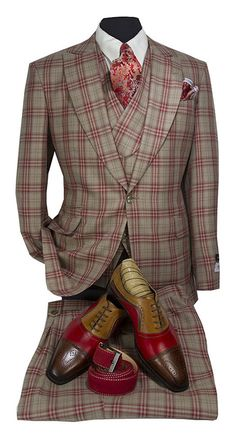A Complete Look for the FSB Man! HookUp 339 a is part of Stylish mens suits - Men's Suits, Dress Suits For Men, Men Dress, Dress Shoes, Gentleman Mode, Gentleman Style, Prom Suit, Mens Fashion Suits, Men's Fashion