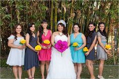 paper flowers for bridesmaids | CHECK OUT MORE IDEAS AT WEDDINGPINS.NET | #bridesmaids