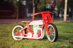 Santiago-based company Jokos creates colorful bikes for children, designed to encourage them to have fun and enhance their physical abilities.