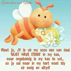 Een van daardie must have's Good Morning Wishes, Good Morning Quotes, Afrikaanse Quotes, Goeie Nag, Goeie More, Inspirational Qoutes, My Roots, My Land, Beautiful Words