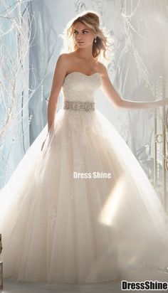 My Dream Wedding Dress  just needs a touch of pink