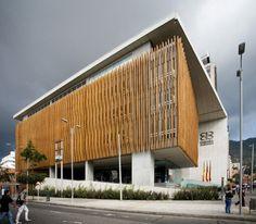 Edificio Cámara de Comercio sede Chapinero, Bogotá - Colombia, Daniel Bonilla Arquitectos.
