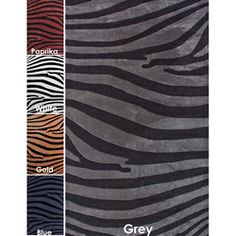 @Overstock - This Alexa rug is woven with easy-to-clean yarns that prevent shedding, unlike wool. This area rug is available in a variety of modern colors to enhance your d?cor.http://www.overstock.com/Home-Garden/Handmade-Alexa-Pino-Modern-Zebra-Rug-76-x-96/5634605/product.html?CID=214117 $235.99