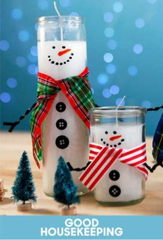 The Best DIY Farmhouse Dollar Store Christmas Hacks Ever! - The Cottage Market Come and experience The Best Farmhouse DIY Dollar Store Christmas Hacks EVER! All are fabulous and so incredibly budget friendly! Enjoy and Create! Dollar Tree Christmas, Dollar Tree Crafts, Christmas Candles, Christmas Diy, Christmas Ornaments, Dollar Tree Candles, Homemade Christmas, Christmas Decorations Dollar Tree, Diy Snowman Decorations