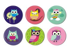 Hey, I found this really awesome Etsy listing at http://www.etsy.com/listing/100051464/owl-magnets-set-of-6-1-inch-fridge