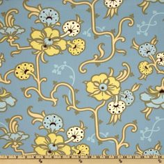 Online Shopping for Home Decor, Apparel, Quilting & Designer Fabric Amy Butler Fabric, Gypsy Caravan, Vinyl Fabric, Drapery Fabric, Fabric Wallpaper, Blue Backgrounds, Fabric Design, Printing On Fabric, Color Schemes