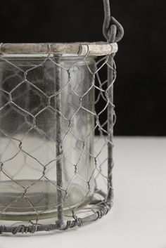 "4"" CHICKEN WIRE FLOWER OR CANDLE HOLDER $6 EACH / 6 FOR $5 EACH"