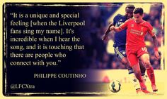 Great quote from Philippe Coutinho