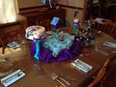 Joy and Chandler's birthday table