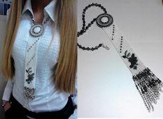 Схемы кулонов и бисерные галстуки | VIP бижутерия