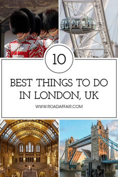 Discover the best things to do in London, including the Big Ben, Tower Bridge, and the London Eye. #travel