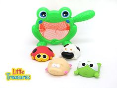 Baby Bath Frog Fishing Playset Bathtub toy set for 18  months toddlers