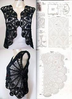 Imagenes con modelos preciosos de boleros tejidos a gancho
