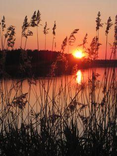 Sunset, Åland Islands