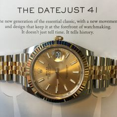 Telling time & history - The Rolex Datejust reincarnated  Click now for details