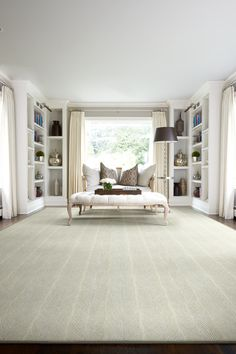 Stanton Carpet's style Brightwater in color Ivory is in stock now at Carpet Time. Take