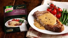 Rich Three Pepper Sauce with a touch of White Wine Recipe Sauce Recipes, Wine Recipes, Food Network Recipes, Peppercorn Sauce, Best Steak, Tasty Dishes, Stuffed Peppers, Cooking, White Wines