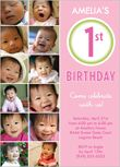 Baby Girl First Birthday Invitations & Girl 1st Birthday Invites | Shutterfly