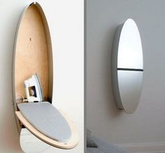 Decorative Wall Mounted Ironing Board
