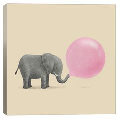 Jumbo Bubble Gum Canvas Print