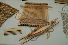Mini Loom at Purl & Loop at Houston Fiber Fest