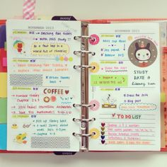 make the daily stuff fun by sticking bits of inspiration into your agenda / task list