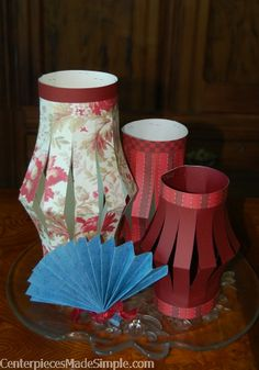 Chinese lanterns, fans, chopsticks and fortune cookies and more.  Just carry-in the food and and fun!