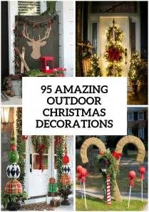 Pictures Of Outdoor Christmas Decor